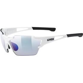 UVEX Sportstyle 803 Race VM Sportsbriller, white/blue